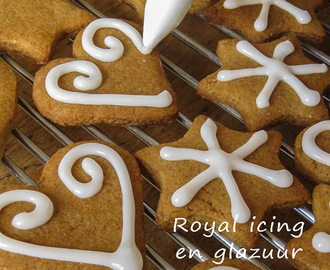 Royal icing en glazuur