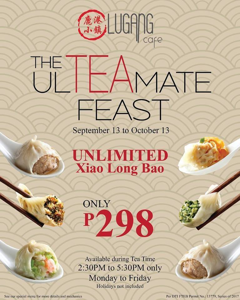 Lugang Cafe Is Promising the ULTEAMATE Feast With Unlimited Xiao Long Baos on Weekdays