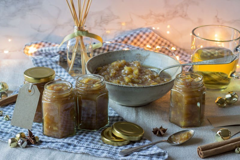 Spiced Pear and Cider Christmas Chutney