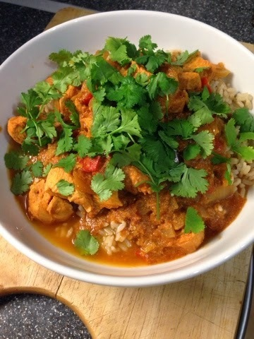 Chicken tikka masala (slimming world friendly)