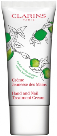 Clarins Hand & Nail Treatment Cream Lemon Leaf - Limited Edition