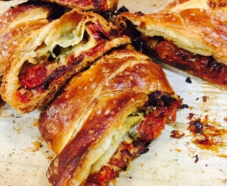 Tomato Strudel with Fontina and Thyme