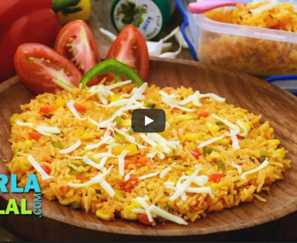 Pizza Rice Recipe Video