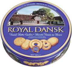 Butter Cookies Danish Royal Dansk
