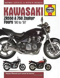 Kawasaki Zr550 & 750 Zephyr Fours '90 to '97