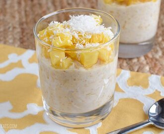Low Syn Pina Colada Overnight Oats