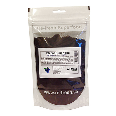 Blåbär Superfood 175g