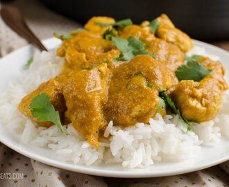 Low Syn Best Ever Chicken Korma