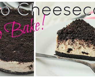 5 Ingredients Oreo Cheesecake - No Bake!