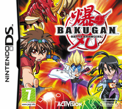 Bakugan Battle Brawlers - Nintendo DS (begagnad)