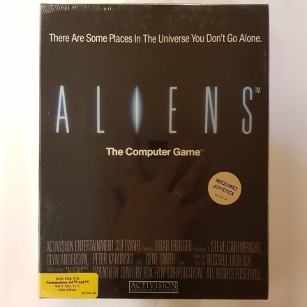 Aliens (Commodore 64/128) - Amiga