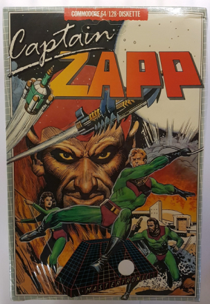 Captain Zapp (Commodore 64/128) - Amiga