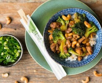 Culy Homemade: kip cashew met broccoli
