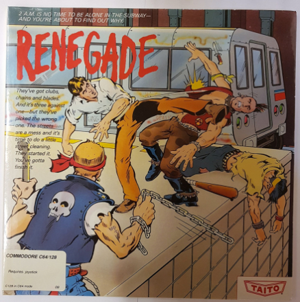 Renegade (Commodore 64/128) - Amiga