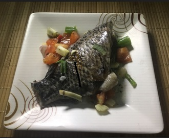 Oven-steamed Tilapia Fish
