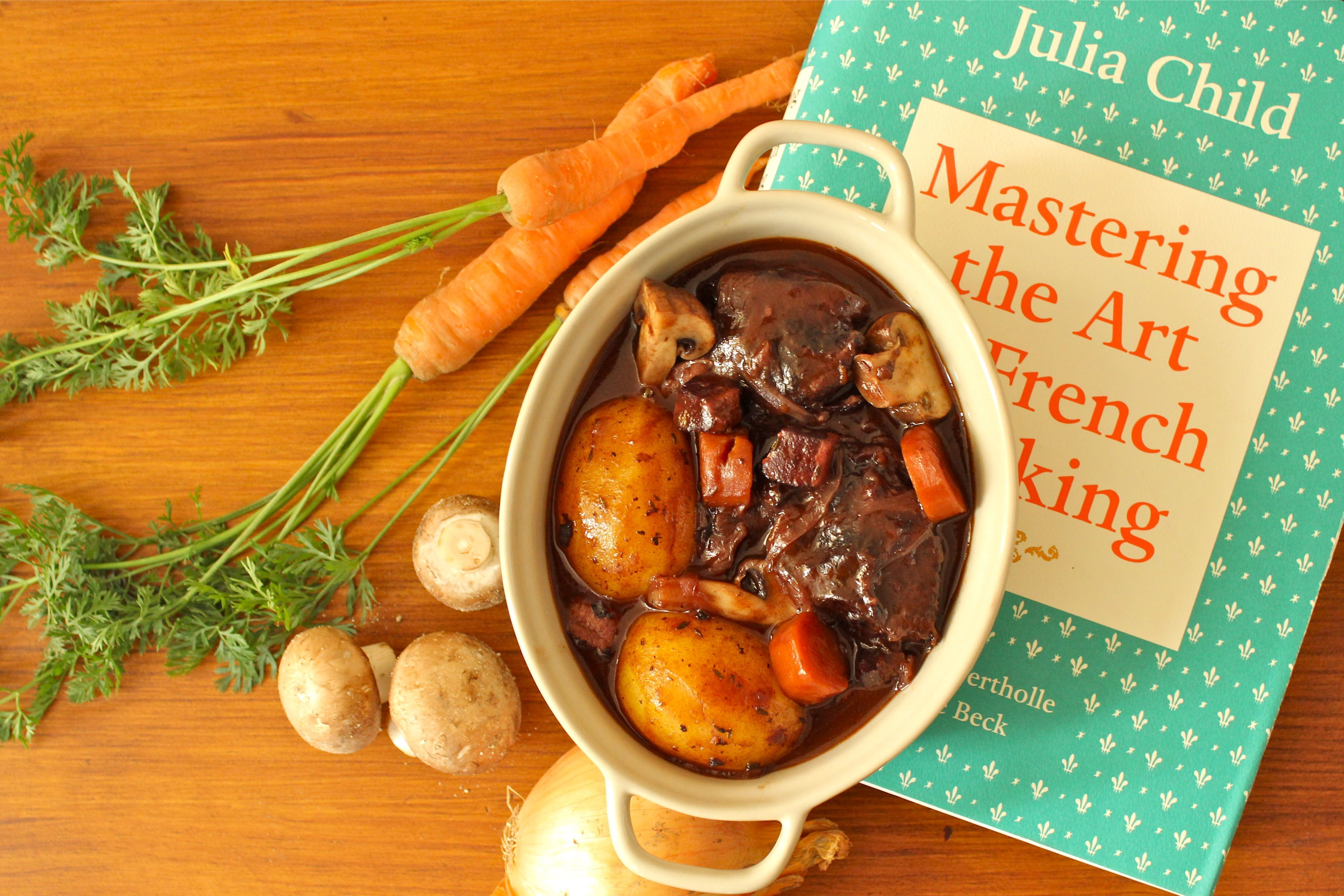 THE boeuf bourguignon de Julia Child