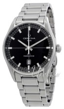 Certina C029.407.11.051.00 DS 1 Svart/Stål Ø40 mm