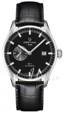 Certina C006.428.16.051.00 DS 1 Svart/Läder Ø41 mm