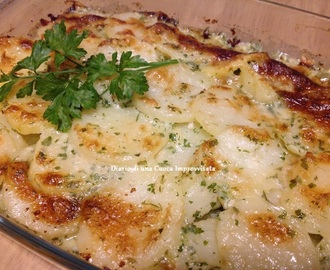 Patate gratinate al Gorgonzola