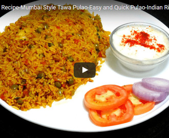 Tawa Pulao Recipe Video