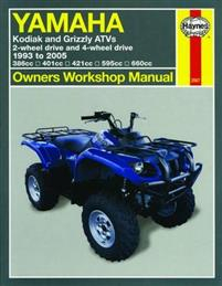 Yamaha Kodiak & Grizzly Atvs: 2-Wheel Drive and 4-