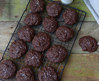 Chocolate & Rye Cookies / Cookies de Chocolate e Centeio.