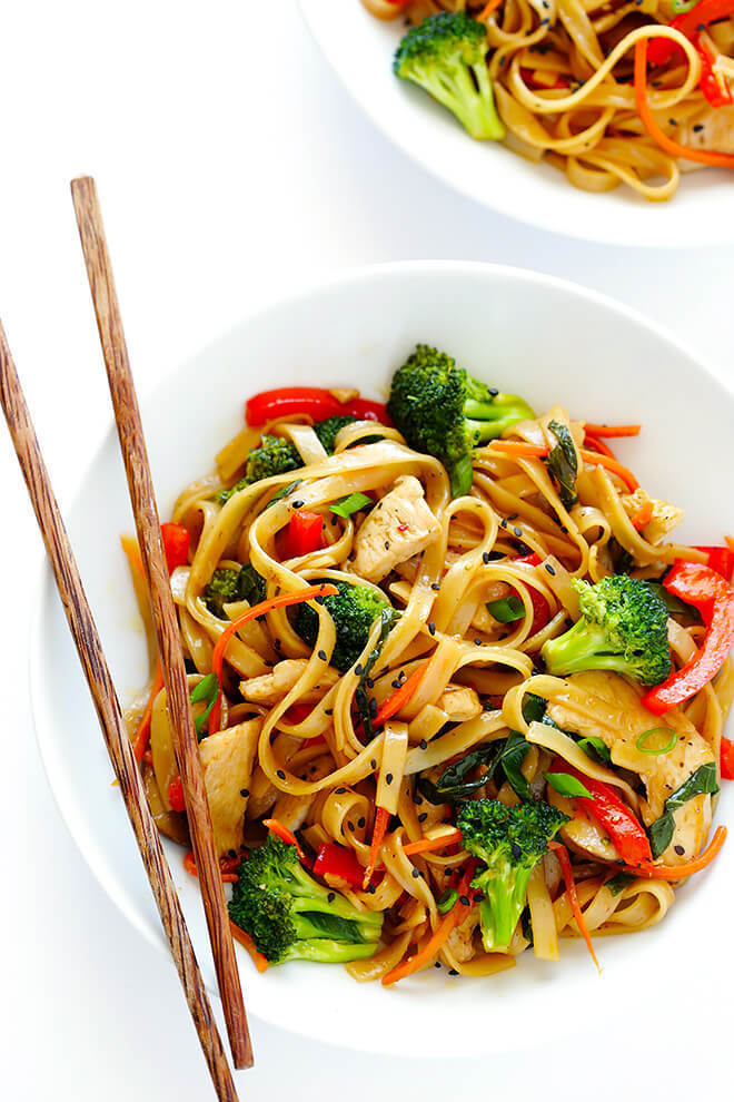 30-Minute Sesame Chicken Noodle Stir-Fry