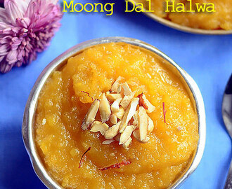 Moong Dal Halwa – Quick Moong Dal Sheera Recipe