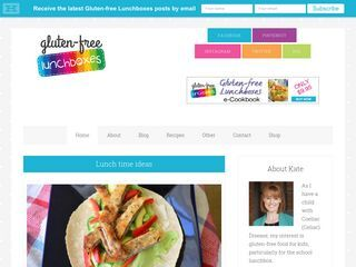 Gluten-free for Lunchboxes | Recipes and food ideas for gluten-free kids