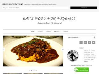 Em's Food for Friends | Recipe