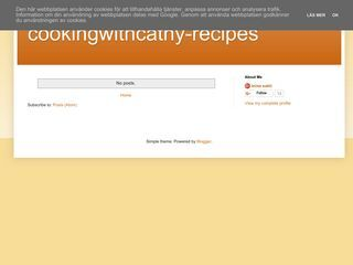 Cooking with Cathy's Recipes