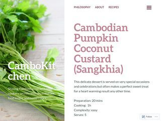 CamboKitchen | Sharing Cambodian recipes and its cookery secrets with adventurous food lovers and home cooks