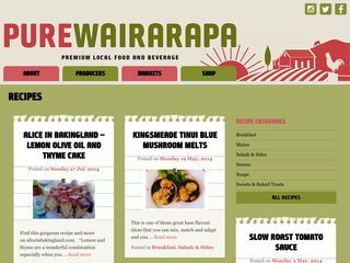 Recipes | Pure Wairarapa