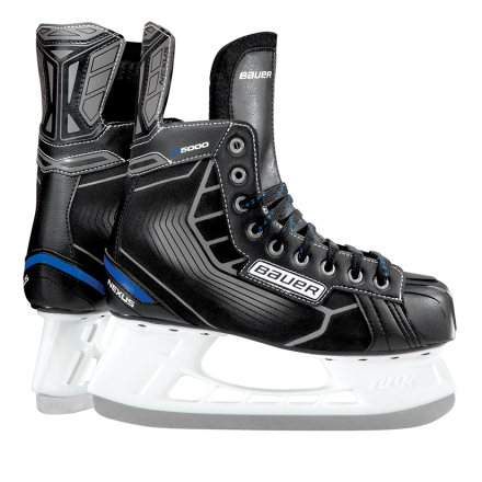Bauer Nexus N5000 Hockey Skate Junior - Svart - 36