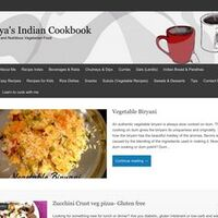 Divya's Indian Cookbook | Delicious and Nutritious Vegetarian Food