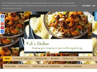 Kuk's Kitchen keeping you company in your culinary journey