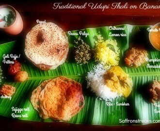Udupdi Veg / Sattvik Thali – South Indian Meal Series