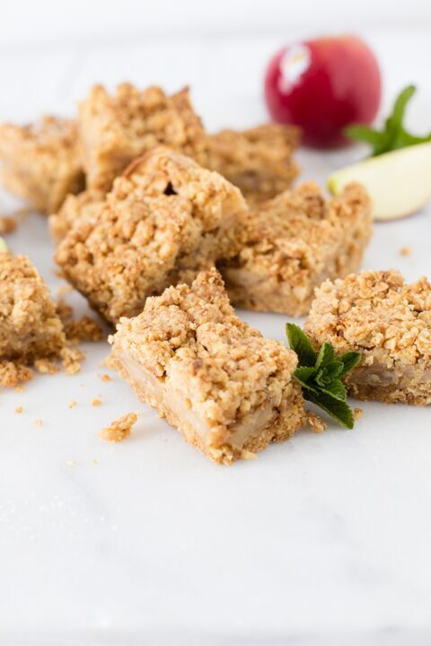JOYA Apple Oat Bars Recipe