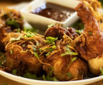 Thai Crispy Spicy Garlic Fried Chicken