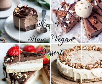 40 Raw Vegan Desserts