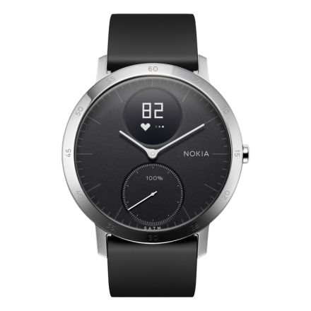Nokia Steel HR Svart 40mm