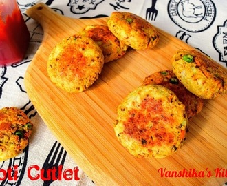 Roti Cutlet | Leftover Roti Cutlet | Healthy Roti Kebabs