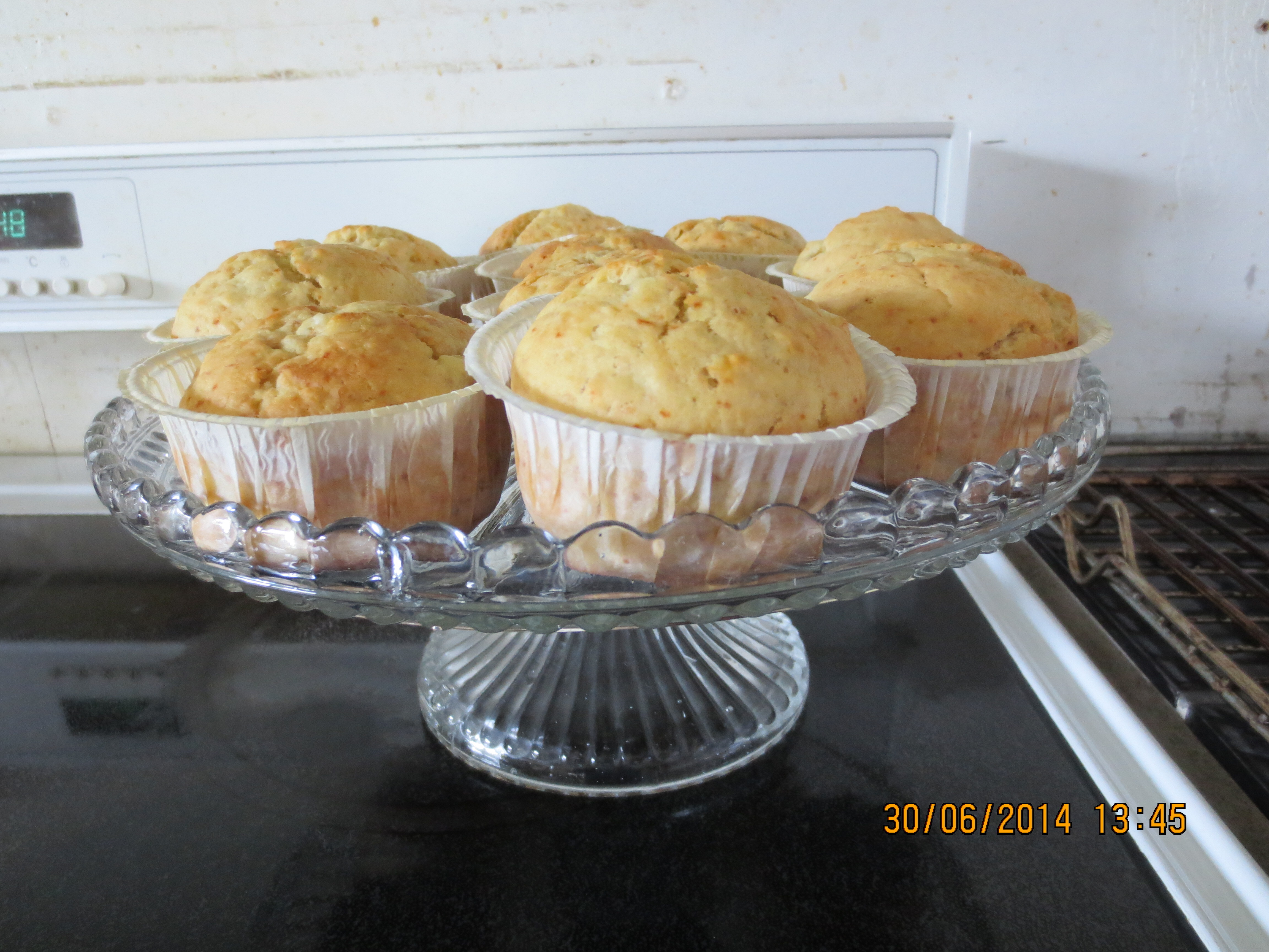 Mosters bananmuffins