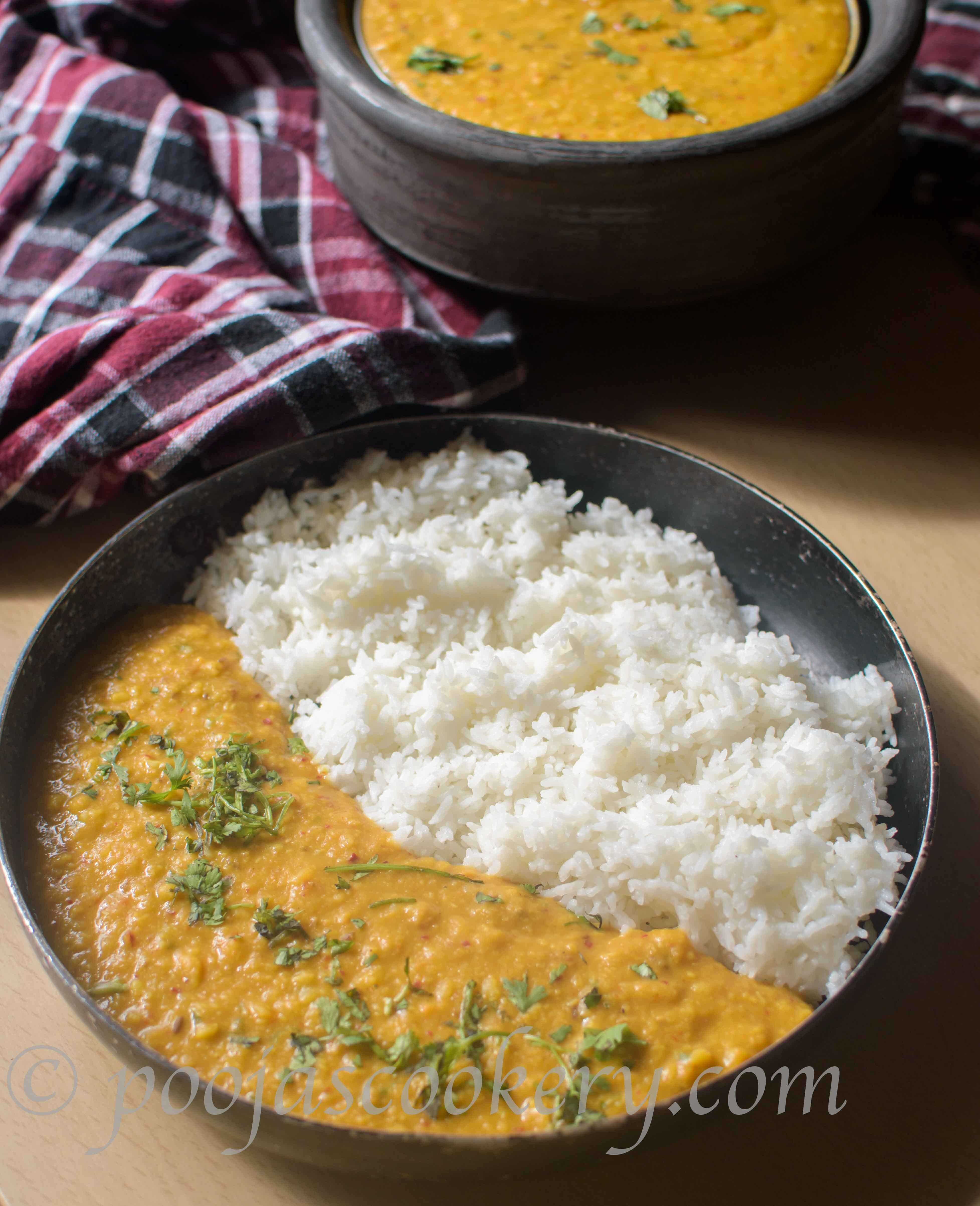 Moong Dal Gravy /Split Green gram Gravy
