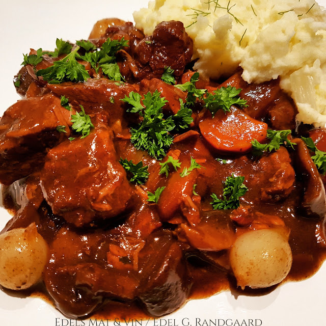 Boeuf Bourguignon i Crock-Pot ♫♫