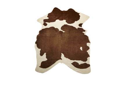 Viking kohud fake Brown printed 3m²