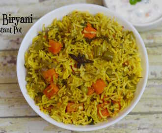 Instant Pot Veg Biryani|Easy South Indian Biryani Recipe|Veg Biryani in Pressure Cooker