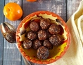 Healthy Chocolate Orange Truffle Bliss Balls {vg, gf}