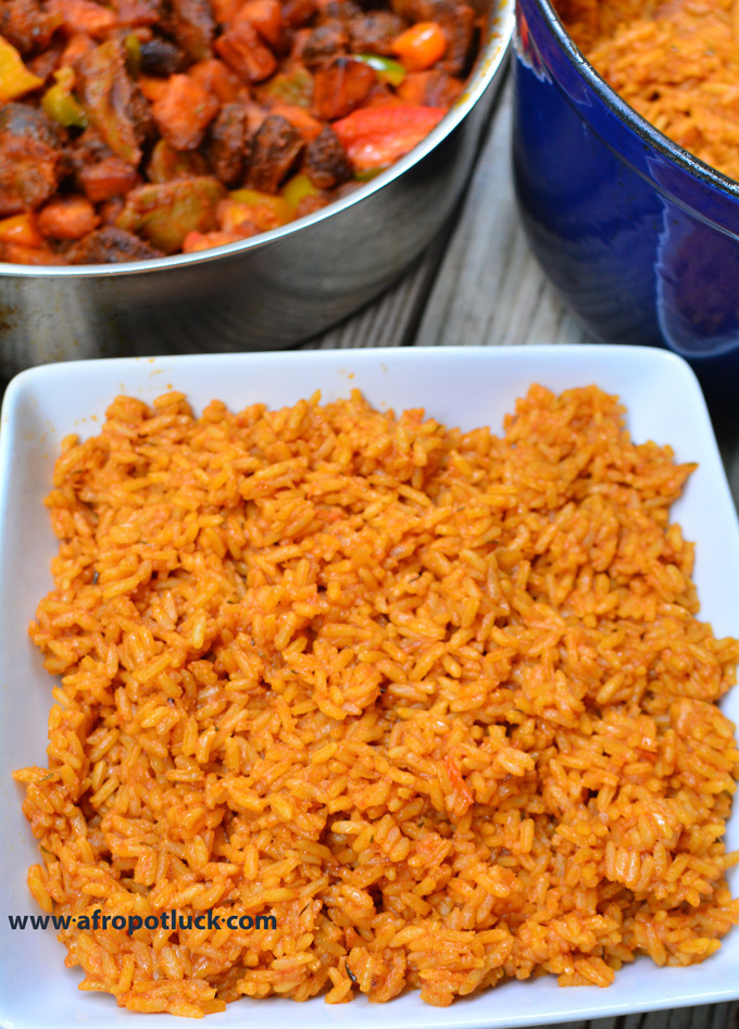 Secret To Well Cooked Jollof Rice
