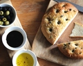 Adopt an olive tree for Christmas and a recipe for garlic and sage focaccia